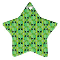 Alien Pattern Ornament (star)