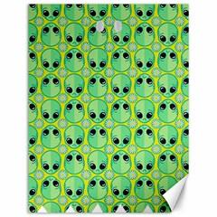 Alien Pattern Canvas 12  X 16