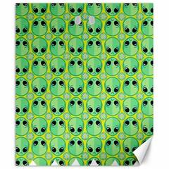 Alien Pattern Canvas 20  X 24