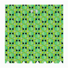 Alien Pattern Medium Glasses Cloth