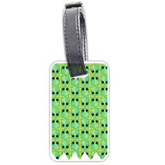 Alien Pattern Luggage Tags (Two Sides)