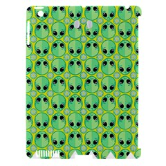 Alien Pattern Apple iPad 3/4 Hardshell Case (Compatible with Smart Cover)