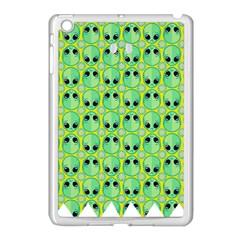 Alien Pattern Apple iPad Mini Case (White)