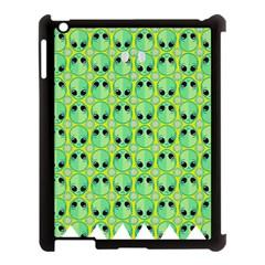 Alien Pattern Apple Ipad 3/4 Case (black)