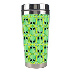 Alien Pattern Stainless Steel Travel Tumblers