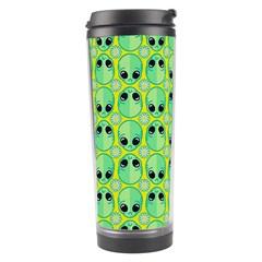 Alien Pattern Travel Tumbler