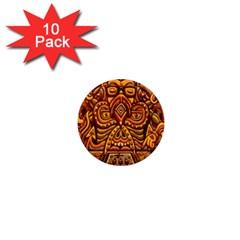 Alien Dj 1  Mini Magnet (10 Pack)
