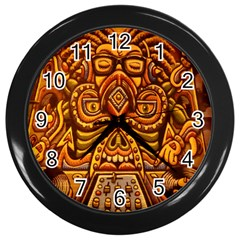 Alien Dj Wall Clocks (Black)