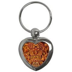 Alien Dj Key Chains (heart)