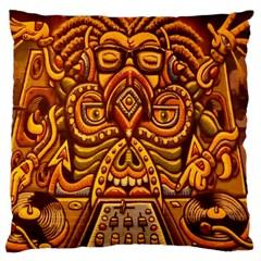 Alien Dj Large Cushion Case (one Side)