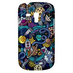 Cartoon Hand Drawn Doodles On The Subject Of Space Style Theme Seamless Pattern Vector Background Galaxy S3 Mini