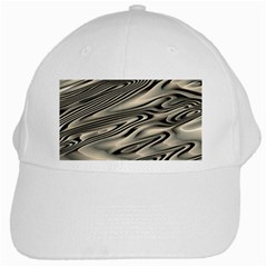 Alien Planet Surface White Cap