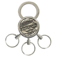 Alien Planet Surface 3-Ring Key Chains