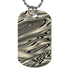 Alien Planet Surface Dog Tag (Two Sides)