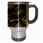 Alien Planet Surface Travel Mug (Silver Gray) Right