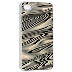 Alien Planet Surface Apple iPhone 4/4s Seamless Case (White)