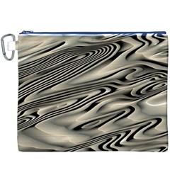 Alien Planet Surface Canvas Cosmetic Bag (XXXL)