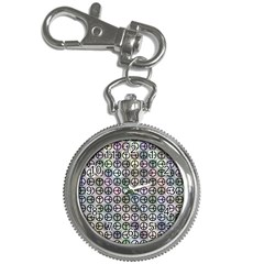 Peace Pattern Key Chain Watches