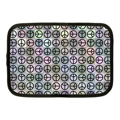 Peace Pattern Netbook Case (medium)