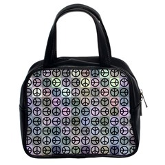 Peace Pattern Classic Handbags (2 Sides)
