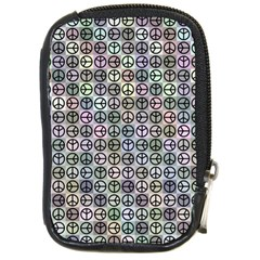 Peace Pattern Compact Camera Cases