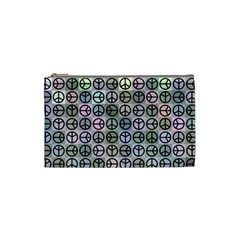 Peace Pattern Cosmetic Bag (Small)