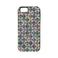 Peace Pattern Apple iPhone 5 Classic Hardshell Case (PC+Silicone)