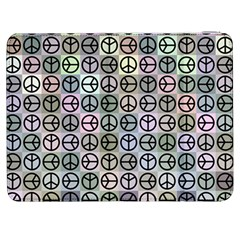 Peace Pattern Samsung Galaxy Tab 7  P1000 Flip Case