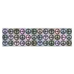 Peace Pattern Satin Scarf (Oblong)
