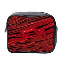 Alien Sine Pattern Mini Toiletries Bag 2-Side