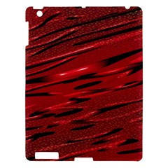 Alien Sine Pattern Apple iPad 3/4 Hardshell Case