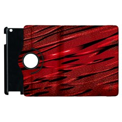 Alien Sine Pattern Apple Ipad 2 Flip 360 Case