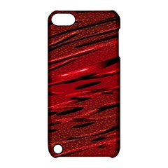 Alien Sine Pattern Apple Ipod Touch 5 Hardshell Case With Stand
