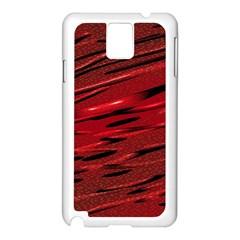 Alien Sine Pattern Samsung Galaxy Note 3 N9005 Case (white)