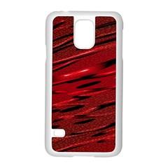 Alien Sine Pattern Samsung Galaxy S5 Case (White)