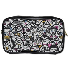 Alien Crowd Pattern Toiletries Bags 2-Side