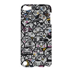 Alien Crowd Pattern Apple Ipod Touch 5 Hardshell Case