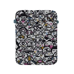 Alien Crowd Pattern Apple iPad 2/3/4 Protective Soft Cases