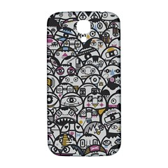 Alien Crowd Pattern Samsung Galaxy S4 I9500/I9505  Hardshell Back Case