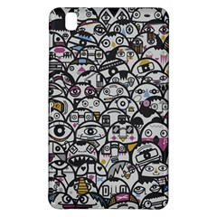 Alien Crowd Pattern Samsung Galaxy Tab Pro 8.4 Hardshell Case