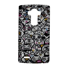 Alien Crowd Pattern LG G4 Hardshell Case