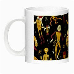 Alien Surface Pattern Night Luminous Mugs