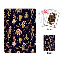 Alien Surface Pattern Playing Card