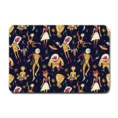 Alien Surface Pattern Small Doormat