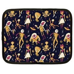 Alien Surface Pattern Netbook Case (large)