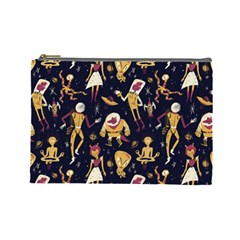 Alien Surface Pattern Cosmetic Bag (Large)