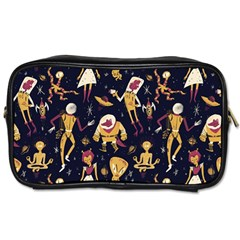 Alien Surface Pattern Toiletries Bags