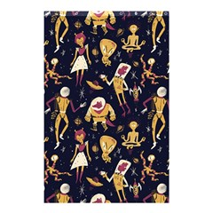 Alien Surface Pattern Shower Curtain 48  x 72  (Small)