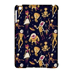 Alien Surface Pattern Apple iPad Mini Hardshell Case (Compatible with Smart Cover)