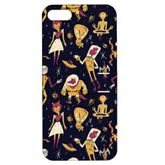 Alien Surface Pattern Apple iPhone 5 Hardshell Case with Stand